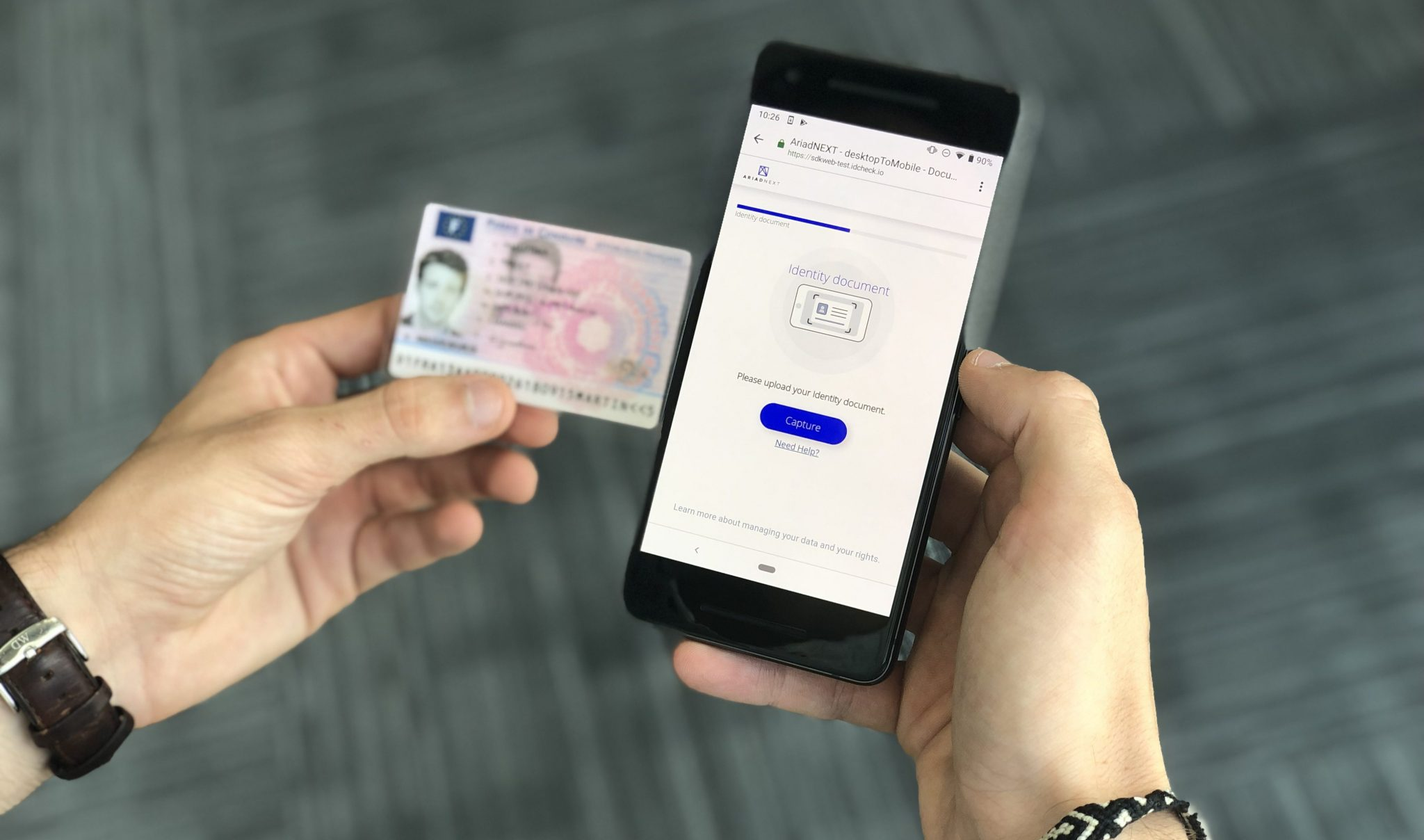driving licence verification