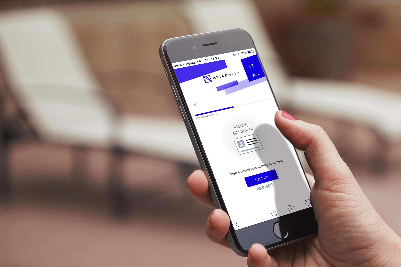 Application mobile de vérification de documents d'identité