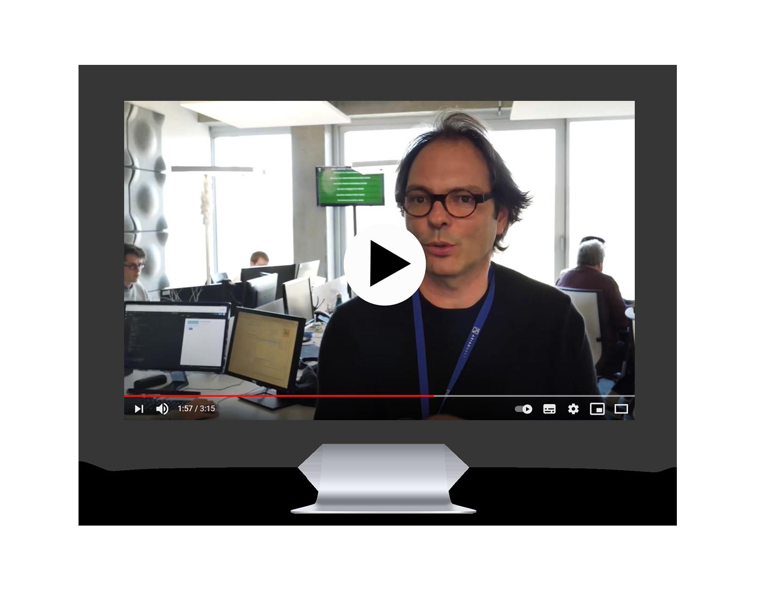 Mockup mac TV Rennes video